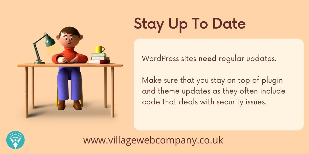 Keep Your Site Up To Date