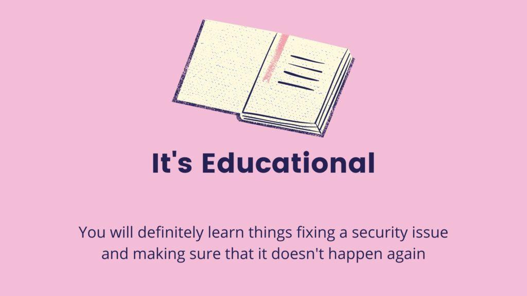 Its educational